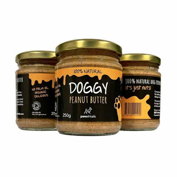 Doggy Peanut Butter Treat Jar
