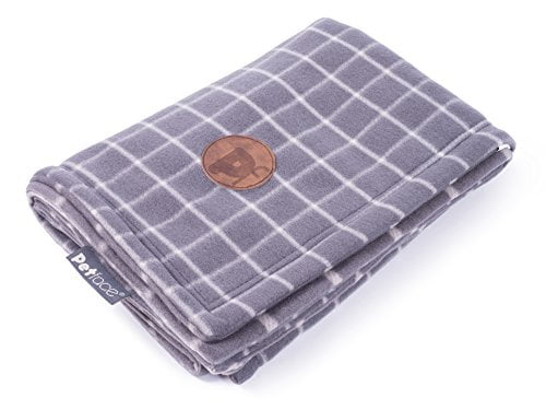 Grey Tweed Blanket